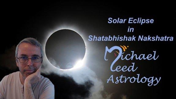 Solar Eclipse in Shatabhishak (Śatabhiṣhak) Nakshatra 15th February, 2018