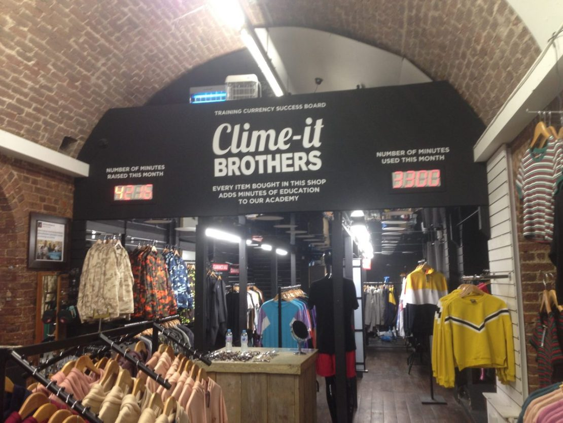 The Clime-it Brothers shop at Camden market, London, England - by Hannah Cackett (Authentic Gems Travel)