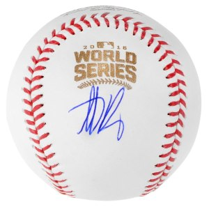 Autographed Chicago Cubs Anthony Rizzo Fanatics Authentic 2016 MLB World Series Baseball