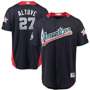 Men's American League Jose Altuve Majestic Navy 2018 MLB All-Star Game Home Run Derby Player Jersey