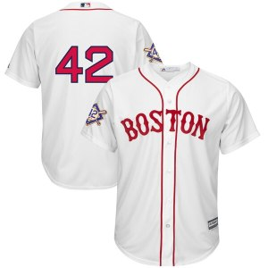 Men's Boston Red Sox Majestic White 2019 Gold Prog cheap Cody Bellinger jersey