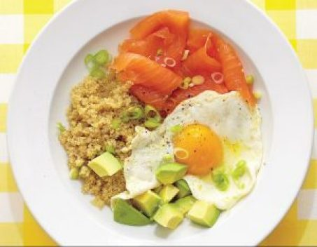 Healthy meals delicious quinoa breakfast