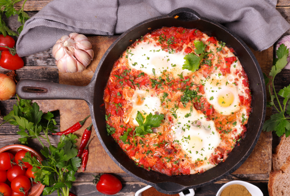 Low Calorie Baked Eggs Recipe
