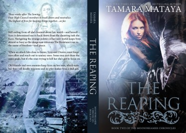 THE REAPING - Tamara Mataya (back cover only)
