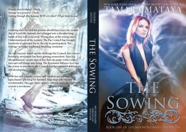THE SOWING - Tamara Mataya (back cover only)