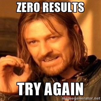 zero risultati riprovare