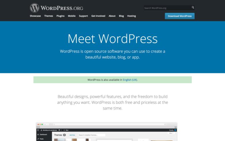 Dashboard di WordPress