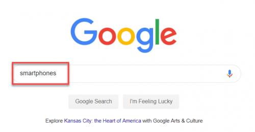Completamento automatico di Google