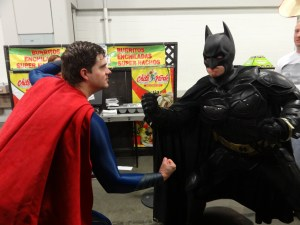 Batman versus Superman in a fight. Who wins?
