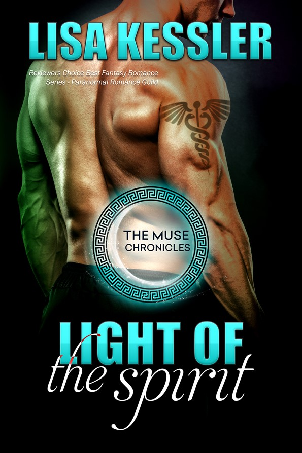 LIGHT OF THE SPIRIT – Cover Reveal! #ParnormalRomance #TheMuseChronicles