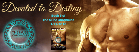 Devoted to Destiny – Book 5 in The Muse Chronicles is HERE! #Giveaway #ParanormalRomance #LycanShifters