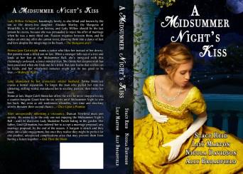 A Midsummer Night's Kiss print wrap cover