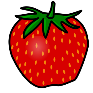 illustrated strawberry