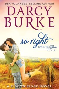 Book Cover, So Right, by Darcy Burke