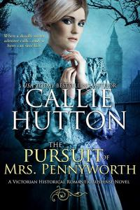 The Pursuit of Mrs. Pennyworth by Callie Hutton cover