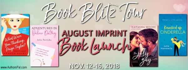 August Imprint Launch Tour Banner
