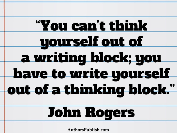 Author Quotes Writing