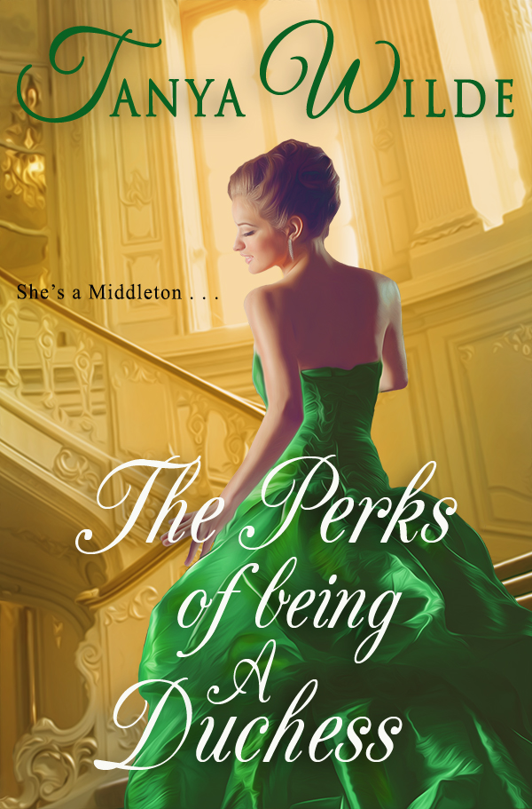 Book Cover: The Perks of Being a Duchess