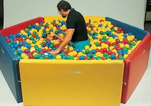 Multi Sensory Ball Pit Pentagon (72 x 78, Includes 3,500 Balls)