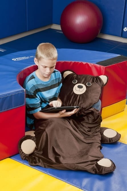 Weighted Teddy Bear Blankets