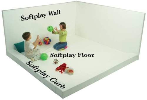 "Softplay Wall (24""W x 48""H Buildable Whiteroom)"