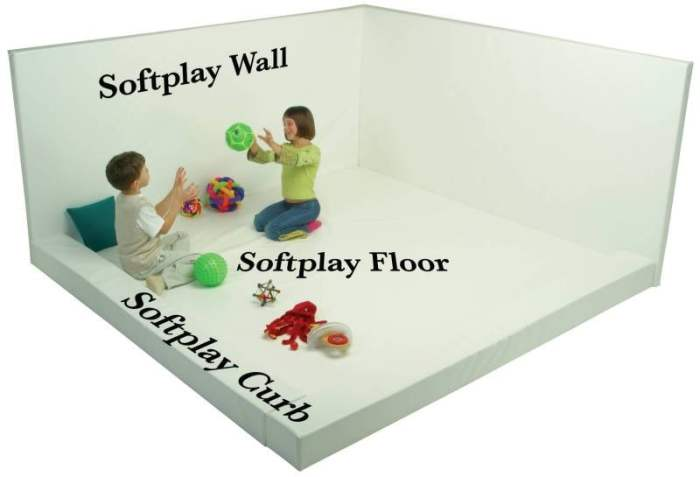 """Softplay Wall (24""""W x 48""""H Buildable Whiteroom)"""