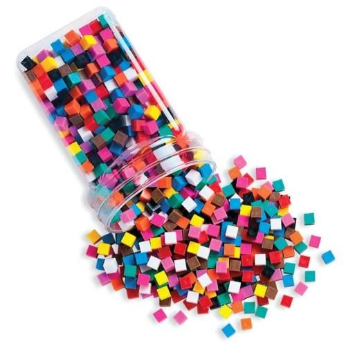 School Smart Centimeter Cubes for Grades K-6 (Set of 1000)