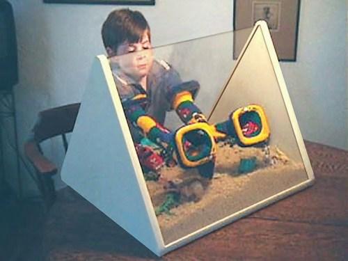 No Mess Indoor Acrylic Sandbox