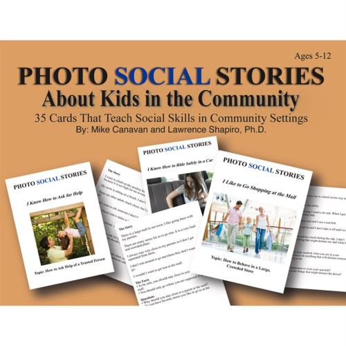 Social Stories Cards About Kids in the Community