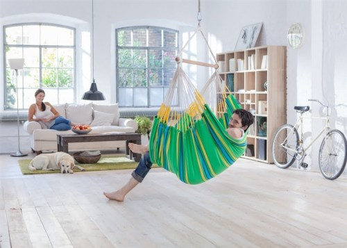 Currambera Hammock Chair Lounger - Kiwi