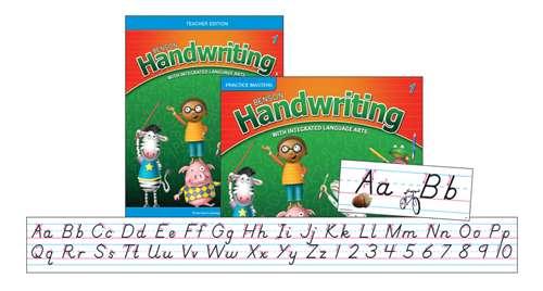 Perfection Learning Benson Handwriting Slant Manuscript Teacher Package, Grade 1