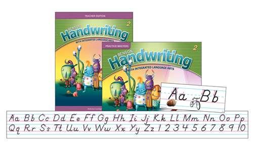 Perfection Learning Benson Handwriting Slant Manuscript Teacher Package, Grade 2