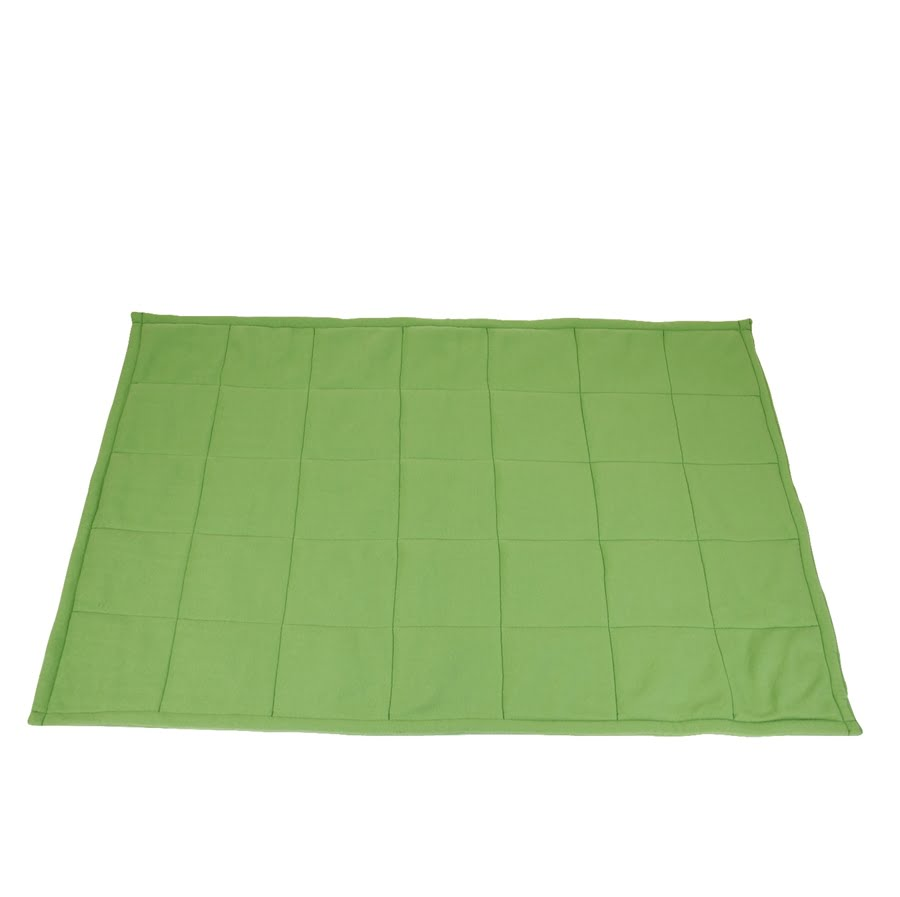 Fleece Weighted Blanket, Green