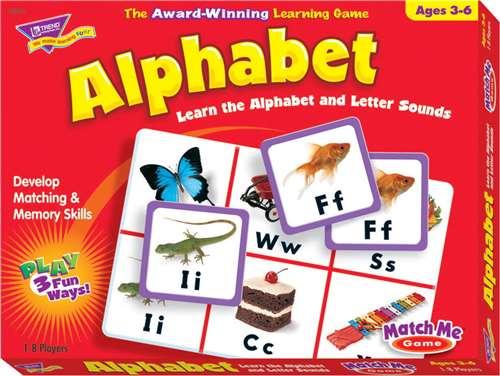 Trend Alphabet Match Me Game