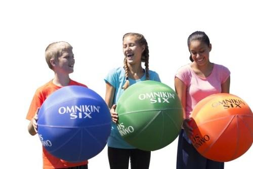 OMNIKIN 18 in SIX balls, Set of 6