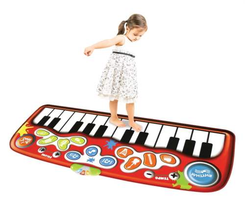 Do-Re-ME! Jumbo Step-to-Play Floor Piano Mat