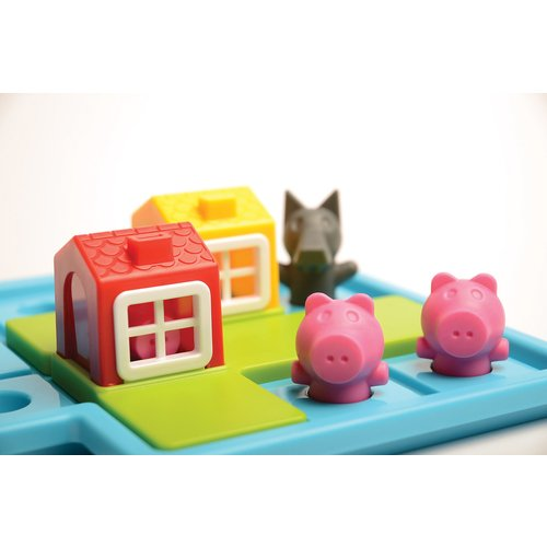 Three Little Pigs Game Close Up