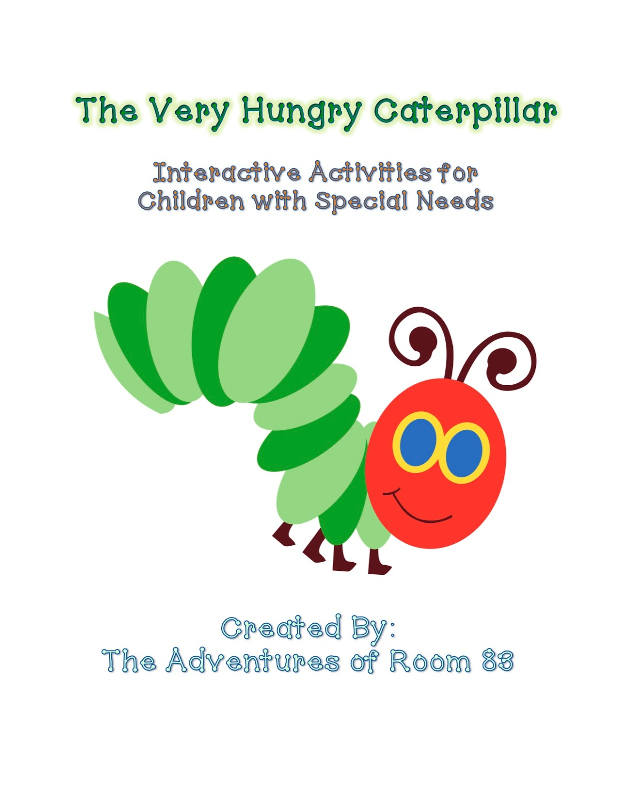 The Very Hungry Caterpillar Activities Autism Adventures