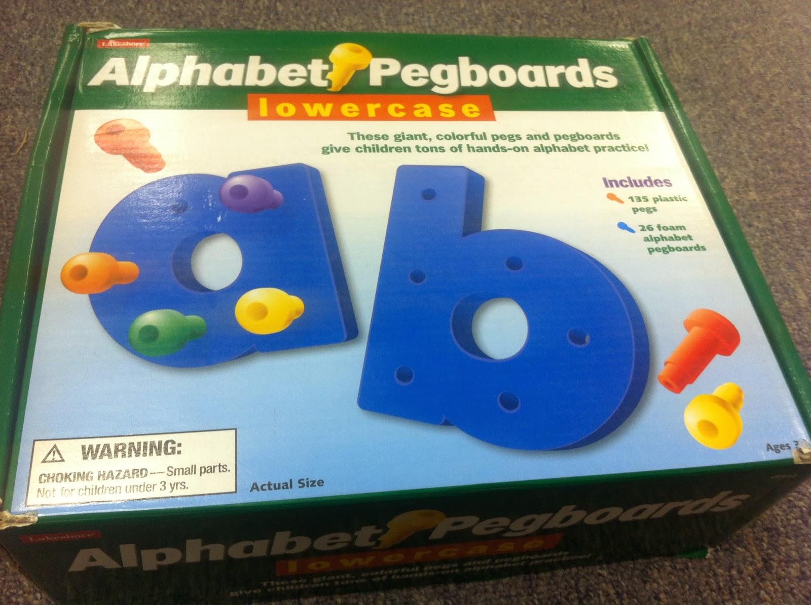 Letter Peg Activities Autism Adventures