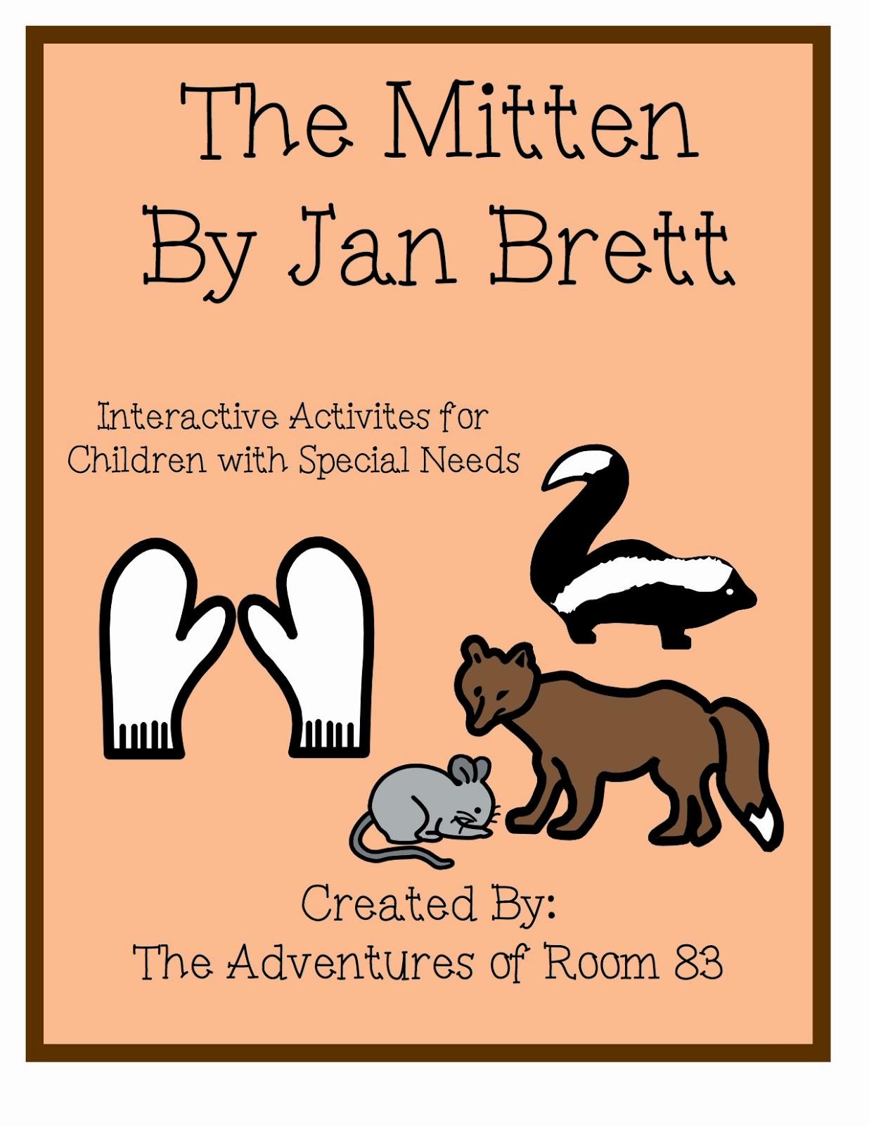 The Mitten By Jan Brett Activities Autism Adventures