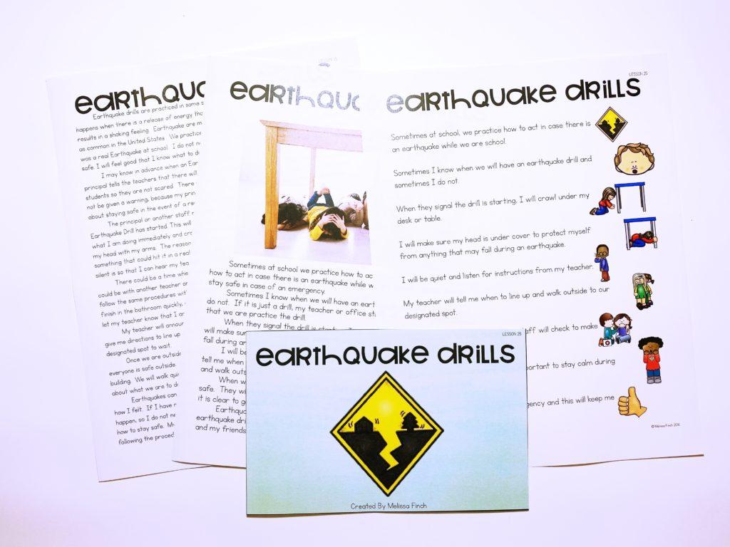 Earthquake Drills Behavior Basics Autism Adventures