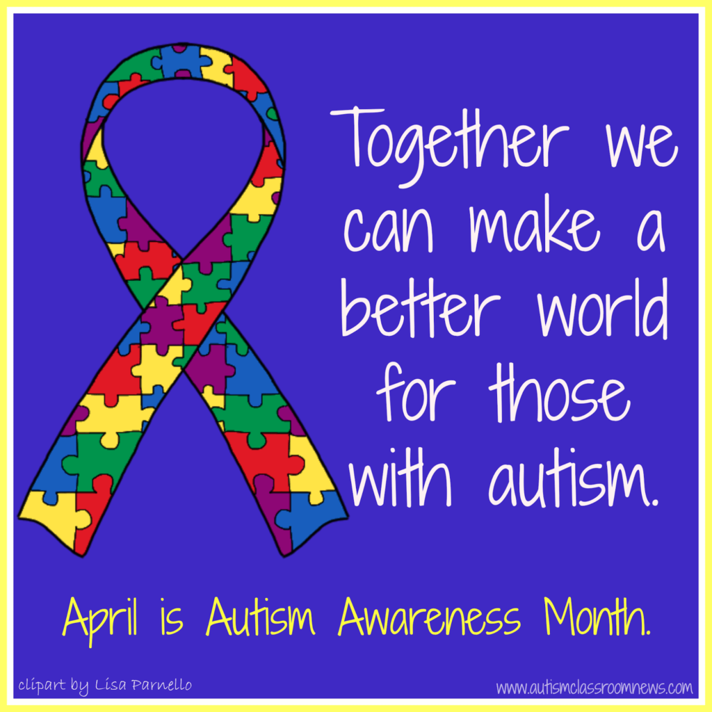 Gearing Up For National Autism Awareness Month Freebies Autism