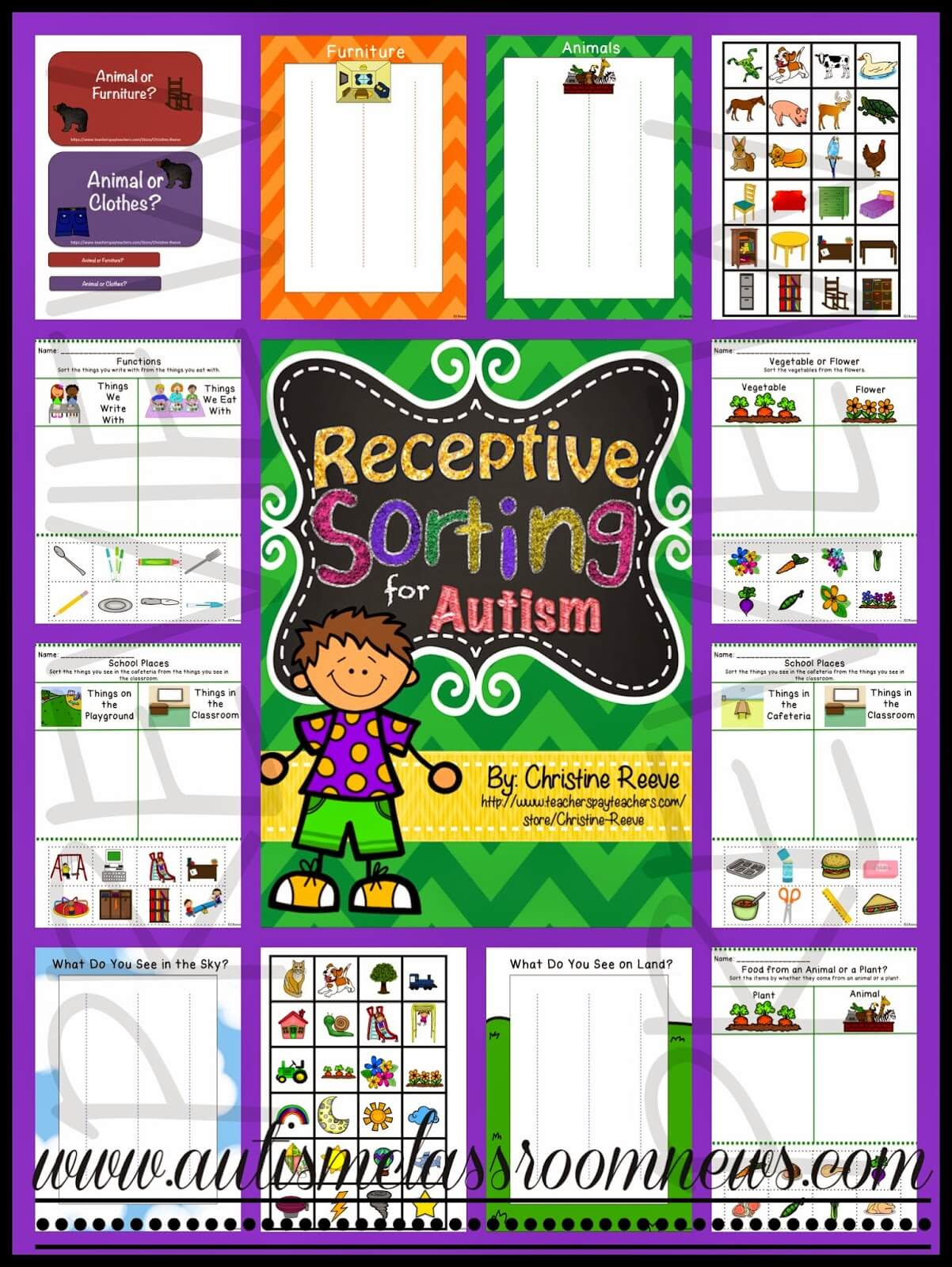 More Ways For Teaching Receptive Vocabulary And A Freebie