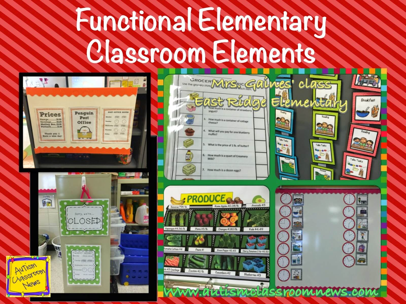 Functional Elementary Classroom Elements