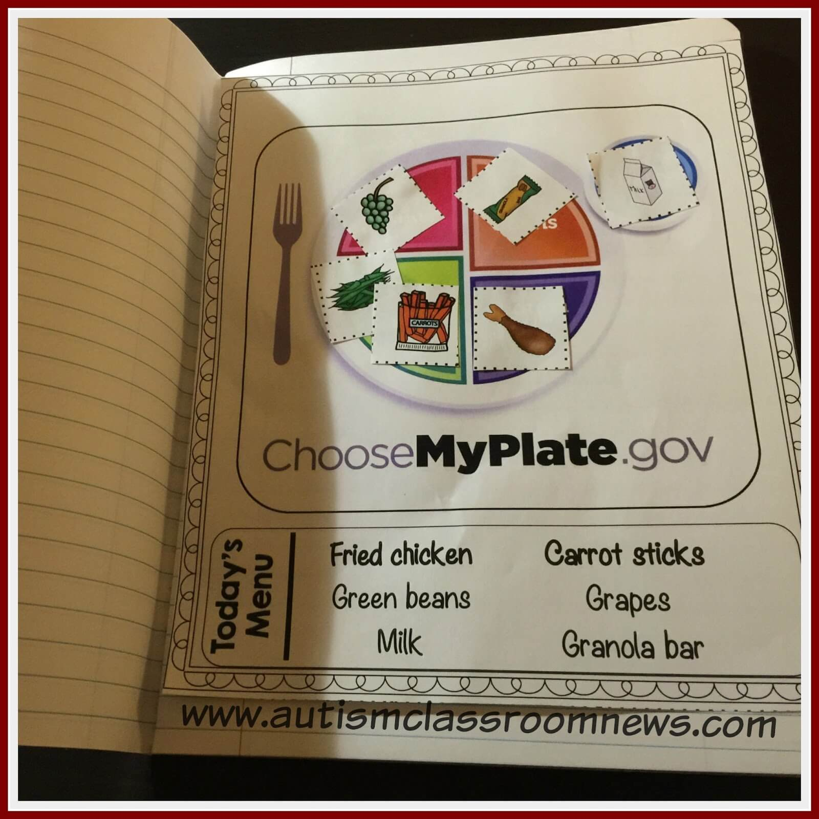 Interactive Materials For Teaching Food Groups And Basic