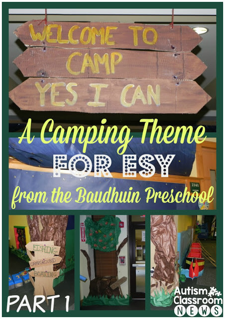 A Camping Theme For Esy From The Baudhuin Preschool Camp Yes I Can