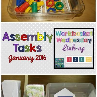 Assembly Work Tasks: Workbasket Wednesday LinkUp