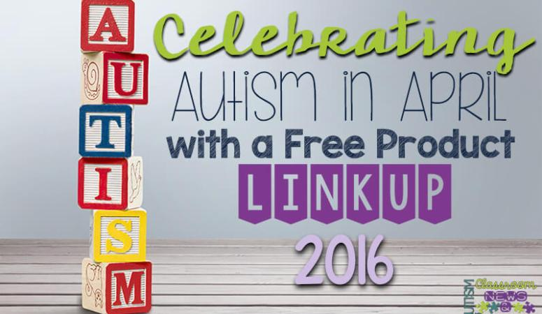 Celebrating Autism in April With a Free Product Linkup 2016