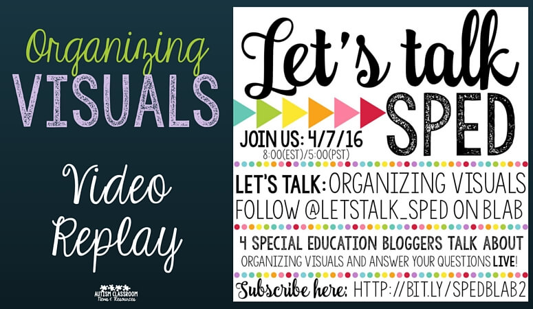 Organizing Visuals: Video Replay & Announcement