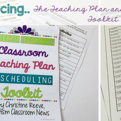 The Special Education Classroom Startup Toolkit: Teaching Plans and Schedule